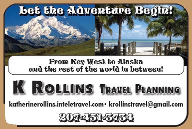 K Rollins travel